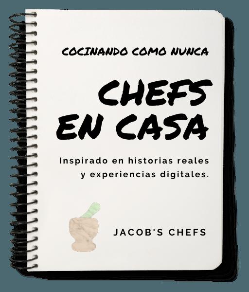 CHEFS EN CASA - COCINANDO COMO NUNCA por Jacbos Chefs